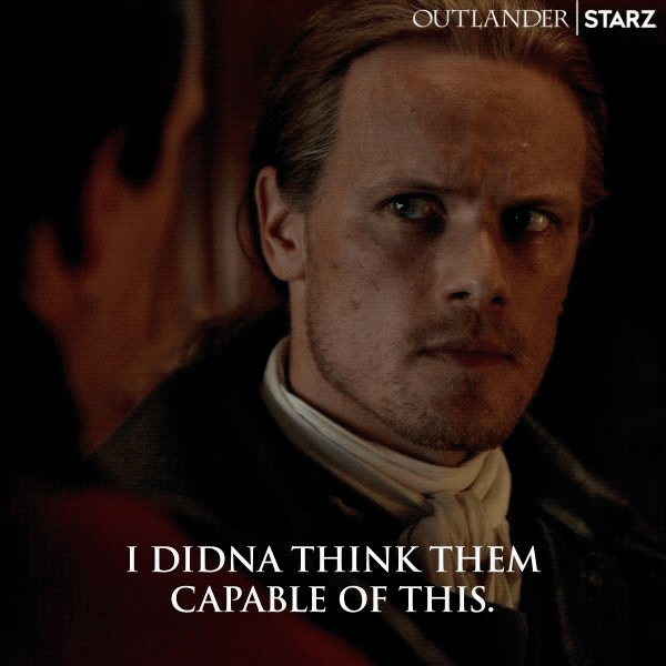 Neither did we, Jamie. 🥺 #Outlander