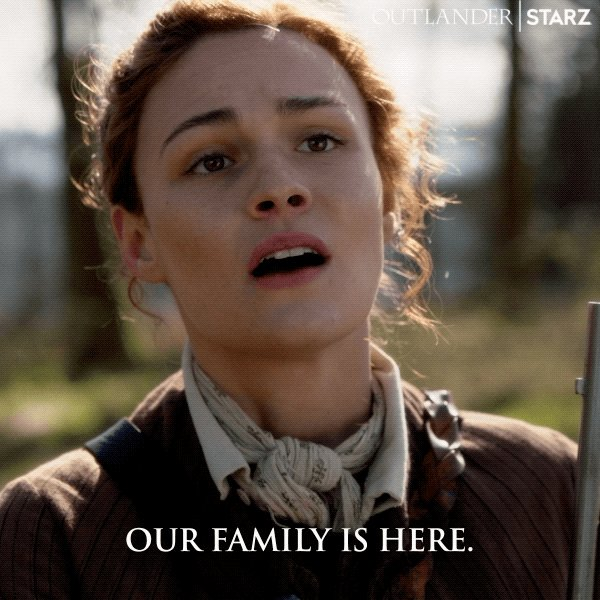 What would Fraser's Ridge be without #BreeAndRoger? #Outlander