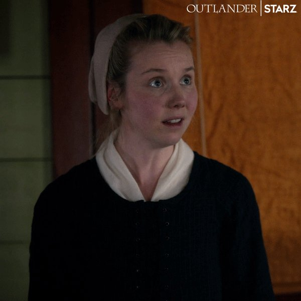 You know that feeling when your mother-in-law just springs a cadaver on you? #Outlander