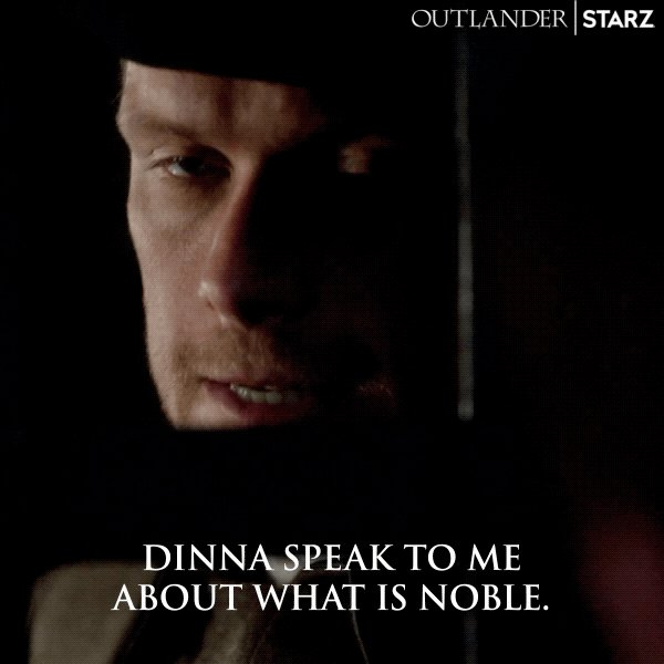 You heard him. #Outlander