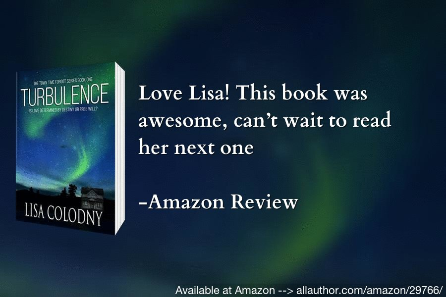 "A great story that you cannot miss. Read ""Turbulence"" now. #fantasy #LisaColodny #mustread #romance  @colodny_lisa available at Amazon --> https://allauthor.com/amazon/29766/"