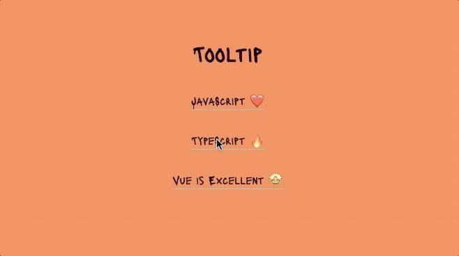 @florinpop1705 Project - 6⃣✅ - Tooltip in Vanilla #JavaScript    #7Days7Projects #codinglife #fun #codingisfun