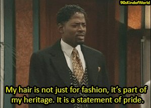 Between #SelfMadeNetflix and #HairLove, hopefully this will spark a larger conversation about black hair and what it means to black people. Kyle Barker May have said it best: