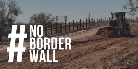 What the Trump Administration is doing to Native American sacred sites along the border is a national disgrace.   Today @NRDems is holding a hearing with tribal leaders. #HonorTheSacred #NoBorderWall  Watch live: https://bit.ly/2wHB0HN