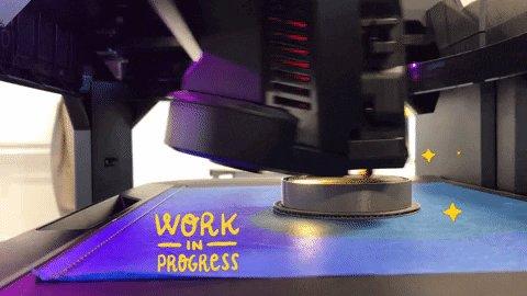 Currently working on the basket's prototype #addon #workinprogress #3Dprinter #CoffeeJack