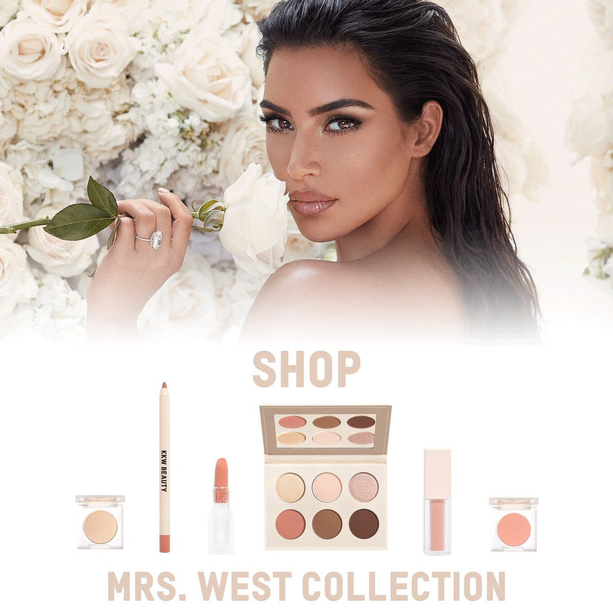 Shop The Mrs. West Collection by @kkwbeauty now only at http://KKWBEAUTY.COM #KKWBEAUTY
