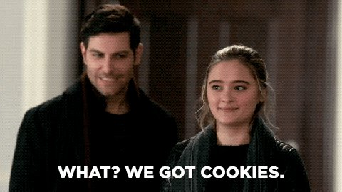 Moving forward, one step at a time 👏🍪 #AMillionLittleThings