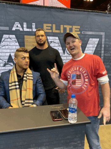 I love MJF! I'm super excited for BTE tomorrow and Revolution and all the #AEW content in between! Goodnight y'all! 😍💖💖💖