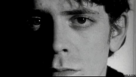 It\s amazing how a little Lou Reed can brighten your day! Happy birthday Lou!