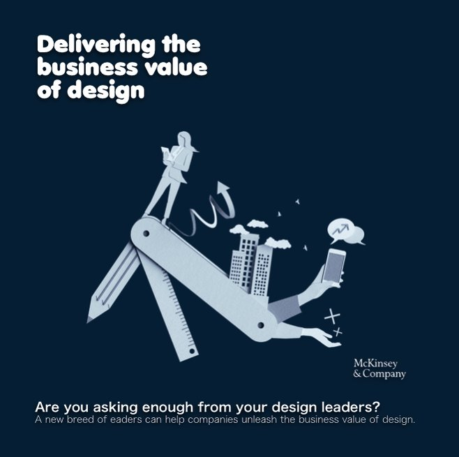 Delivering the #business #value of #design🖍@McKinsey  #Csuite #UXdesign #CX #UserCentric #Agile #GrowthMindset #Cognitive #DesignDriven #SDGs #ProductDesign #CDO #DesignLeaders #Design4Good #PurposeDriven #management #DesignThinking #BusinessTransformation
