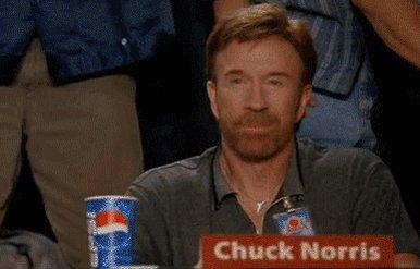 Chuck Norris hat keine Albträume,  Albträume haben Happy Birthday, Chuck!