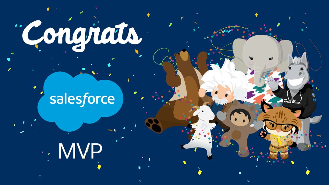 A huge congratulations to the Salesforce MVPs for 2020 for your contributions, work and passion! So many names of friends there, well done you superstars! 🎉