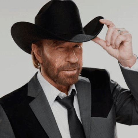 During BOGO deals, Chuck Norris gets two free.  Happy Birthday,