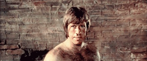 Happy Birthday Chuck Norris,  Scene from fight with Bruce Lee.