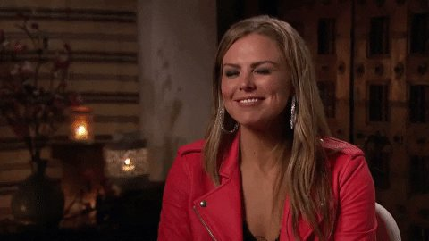 Hannah B watching and realizing when one door shuts God opens a window...back to Peter #theBachelor