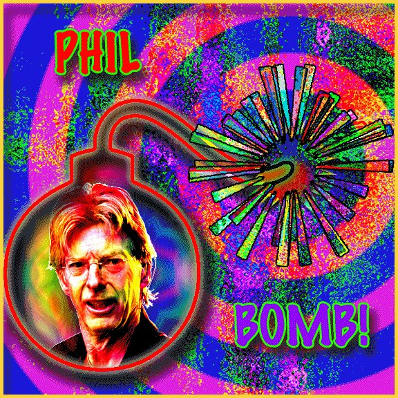 Happy birthday to the inventor of the bass bomb, Mr Phil Lesh