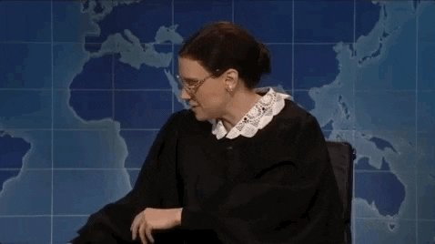 Happy birthday to Ruth Bader Ginsburg! Can someone bubble wrap her and put her in a cleanroom?