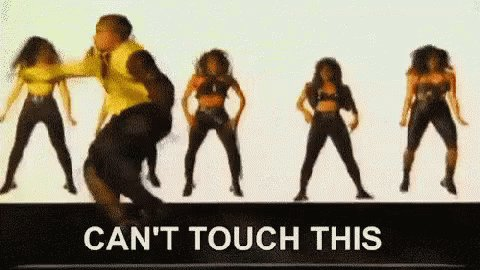 MC Hammer! 'Can't touch this!' twitter.com/DawsOrion83/st…