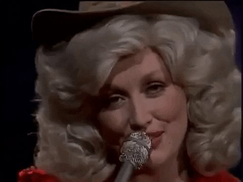 What's your favorite @DollyParton song? 💗