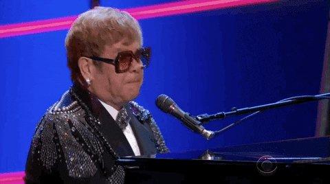 Happy birthday to the RocketMan himself, Elton John!