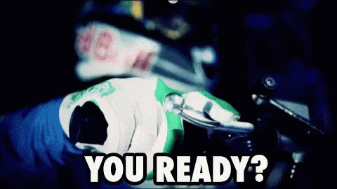 #2020MMM [gif is someone getting ready throttle on motorbike]