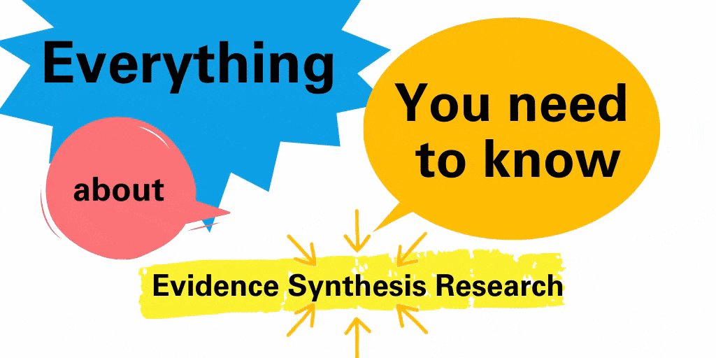 Everything You Need to Know about Conducting #Evidence Synthesis #Research unicef-irc.org/article/1966-e…
