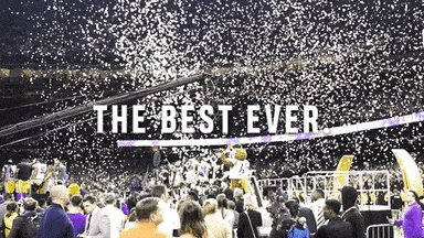 15-0. The Best Ever. Stay At Home & #GeauxTigers