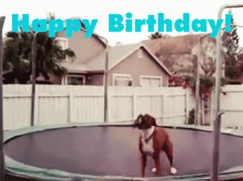 I want to wish a Happy Birthday to . I hope you have a good day!!!