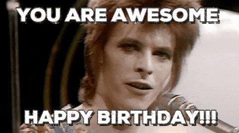 happy birthday!!!!     I hope your day is amazing!!!