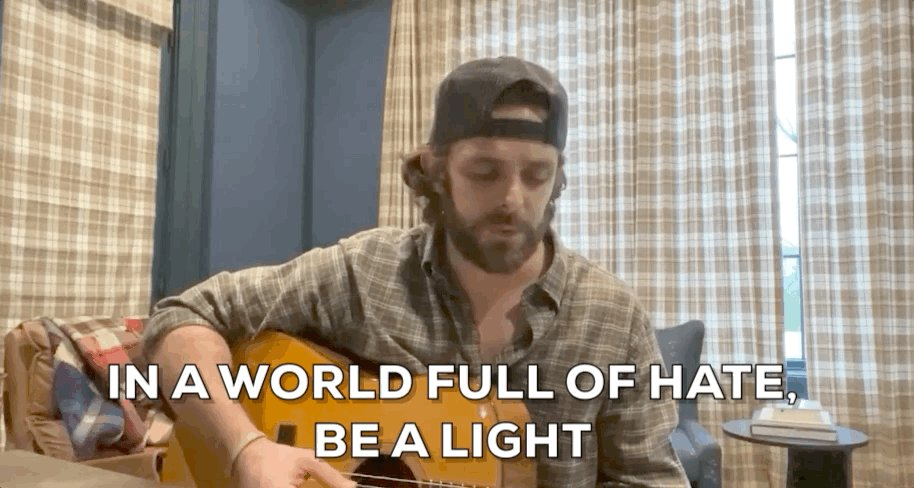 YOU are a light, @ThomasRhett. 🕯 #ACMOurCountry