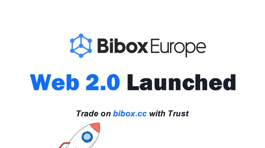 Image for the Tweet beginning: #BiboxEurope Web 2.0 just released!