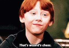 I LOVE WIZARD'S CHESS!!! #HarryPotter #WizardingWorld @SYFY @wizardingworld @HarryPotterFilm