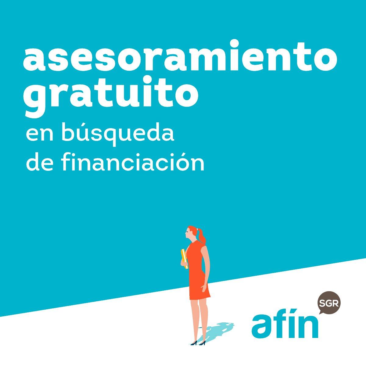 Image for the Tweet beginning: Si necesitas financiación, cuenta con