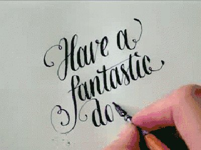 Anyone do calligraphy? Any good books for beginners?