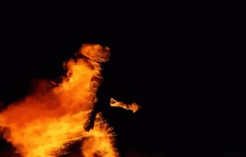 Writing a new screenplay. Halfway through. Lots of things catching on fire in it. Phew.....