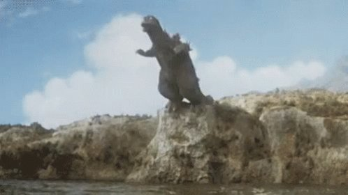 Godzilla is trending. I fear the worst. 🤭