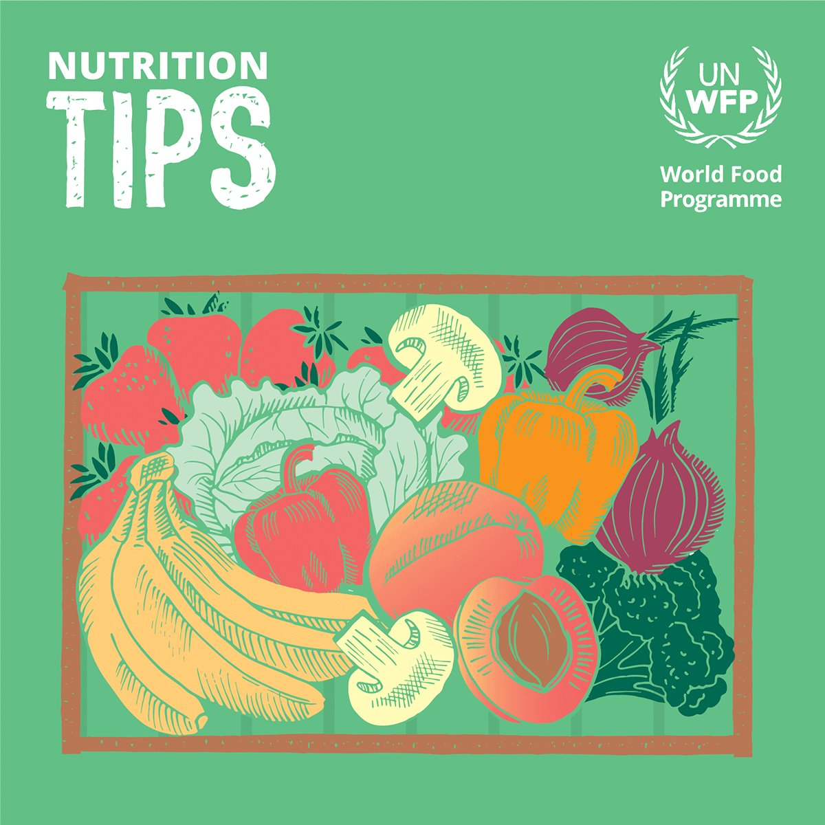 Blue & Purple🍇🍆 Green🥦🥬🥝🥒🍏 Red🍎🍉🍅🍒🍓🌶️ Orange & yellow 🍊🥕🍑🍋🌽🥭🍠  Colourful fruits and vegetables are rich in vitamins and antioxidants that help the body work well. A colourful plate can protect you from getting sick and help you fight off illness. #HelathyAtHome
