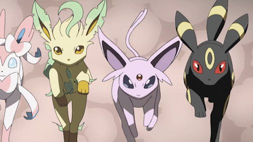 Take it from the Eevee Evolutions, Trainers: you can be whoever you want to be. 💗
