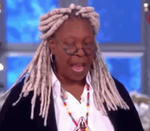 Whoopi Goldberg is reading Bernie Sanders and I'm here for it #TheView she's a 🐐