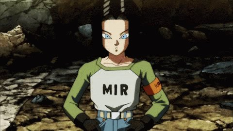 @nowvoicethis Android 17 definitely knows how to deliver the good news ^~^ 👍🏻