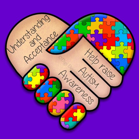 Image for the Tweet beginning: It's World Autism Day today,