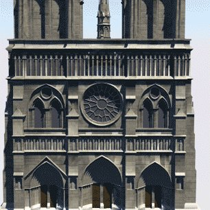 Image for the Tweet beginning: Notre Dame is still unstable.