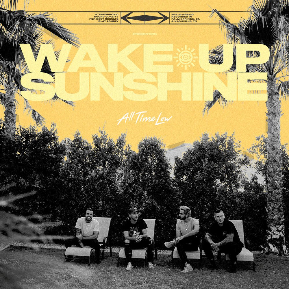 The new album from @AllTimeLow is here! ☀️ Check out #WakeUpSunshine on Deezer dzr.lnk.to/ATLWUS