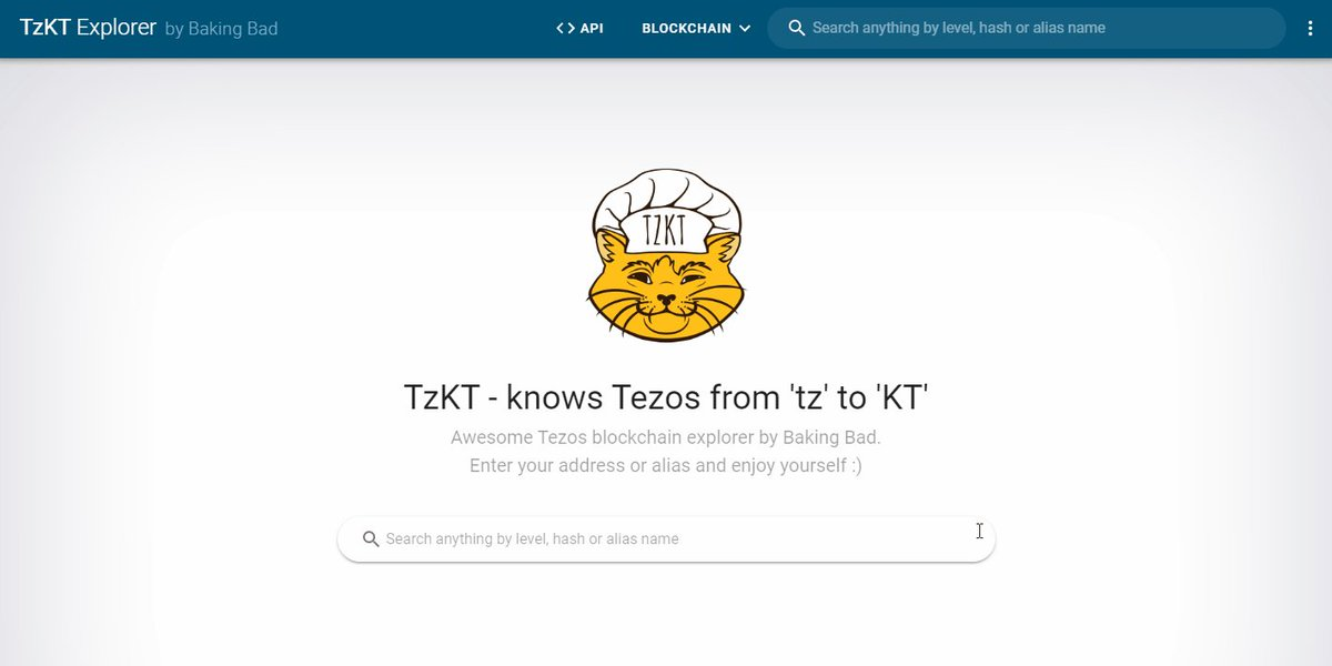 Image for the Tweet beginning: We started adding @Tezos blockchain