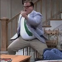 Is it as weird for all of you as it is for me that Kevin James' part in 'Grown Ups' is obviously just supposed to be Chris Farley? Kinda makes me want to cry when I think about it 😢