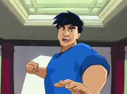 I was watching a Jackie Chan film, when I found out it was his birthday.  Happy day
