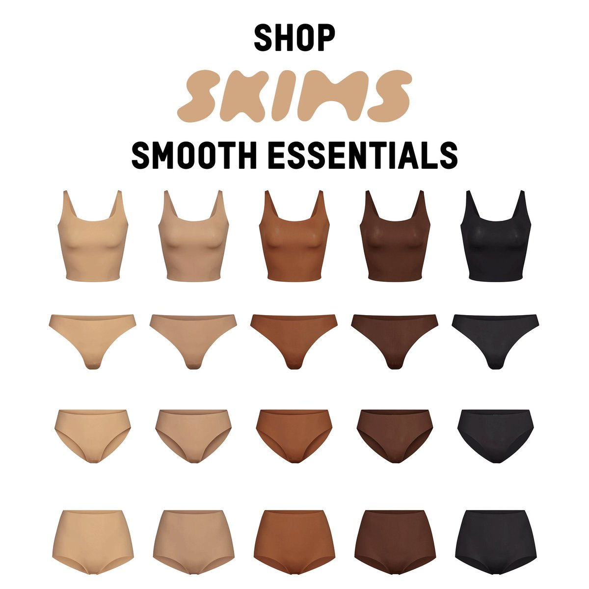 Shop @SKIMS Smooth Essentials now only at http://SKIMS.COMpic.twitter.com/PNZYPT393l