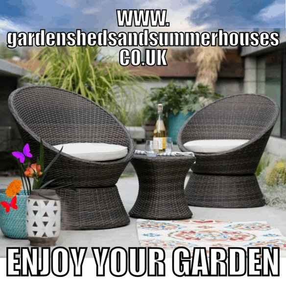 #EasterAtHome then why not #Enjoy your #Garden  We have a range of #sun loungers, #rattan seating and #parasols all in stock for delivery direct to your door  As well as #climbing frames, #sandpits and #pools #EasterWeekend #HappyEaster http://www.gardenshedsandsummerhouses.co.uk  #StayHomeSavesLives