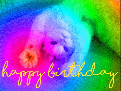 Happy Birthday, !
