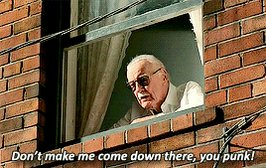 Love you, miss you, Stan #StayTheFFHome #SpiderManHomecoming